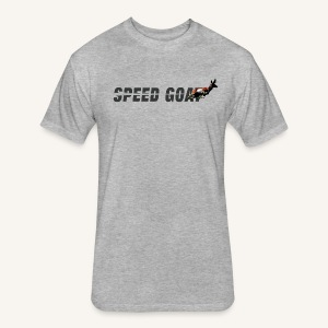 Speed Goat Men's Tri-blend Tee - Fitted Cotton/Poly T-Shirt by Next Level