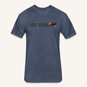Axis Assassin Men's Tri-blend Tee - Fitted Cotton/Poly T-Shirt by Next Level