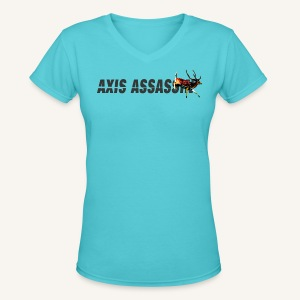 Axis Assassin Womens V-cut Tee - Women's V-Neck T-Shirt