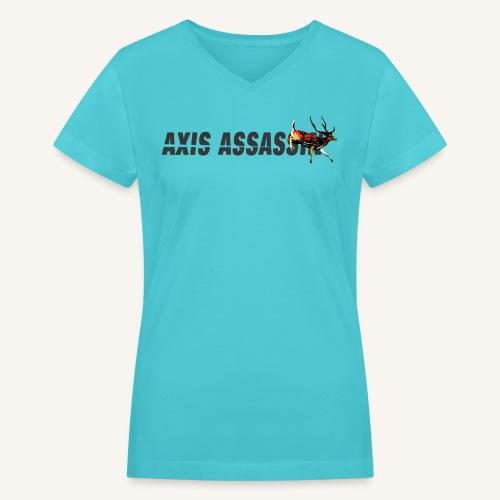 Axis Assassin Womens V-cut Tee - Women's V-Neck T-Shirt