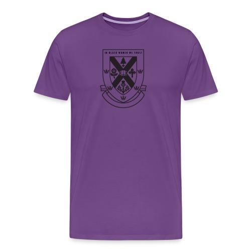 In black women we Trust men's Tee - Men's Premium T-Shirt