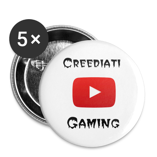 Creediati Gaming Pins - Large Buttons
