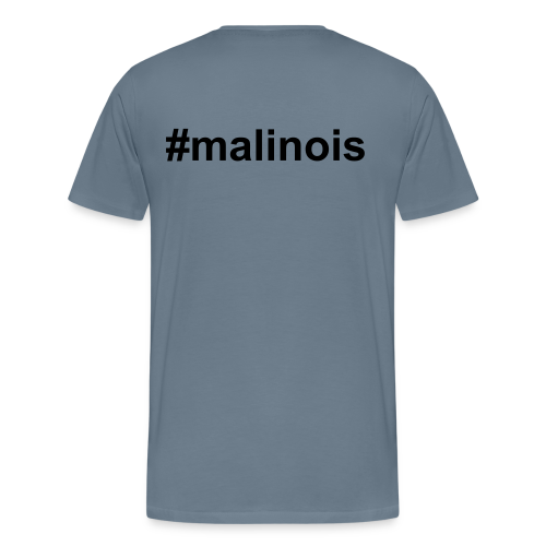 Mens #malinois - Men's Premium T-Shirt