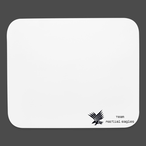 Plain White T-Shirt - Mouse pad Horizontal