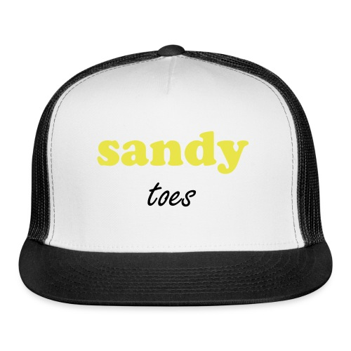 sandy toes - Trucker Cap