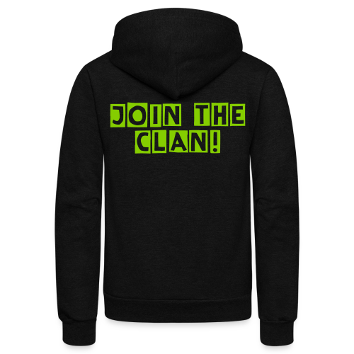Unisex zip-up  Join the Clan hoodie - Unisex Fleece Zip Hoodie