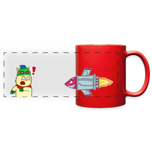 Tazita de teemo - Full Color Panoramic Mug