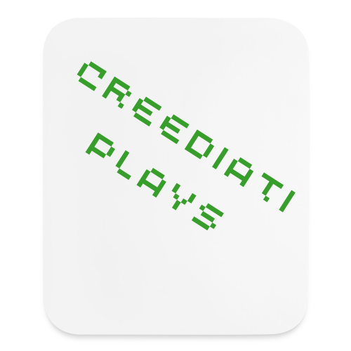 Creediati Plays Designer Mousepad - Mouse pad Vertical
