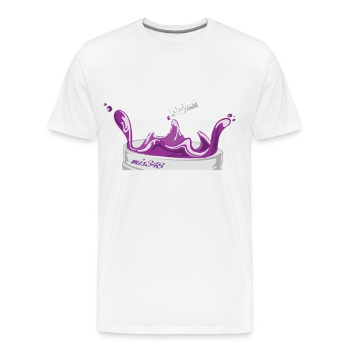 DOUBLE L PURP TEE - Men's Premium T-Shirt