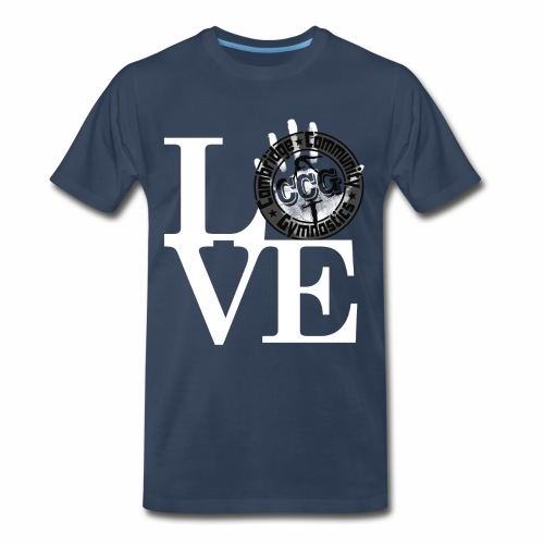 Love CCG Gymnastics - Men's Premium T-Shirt