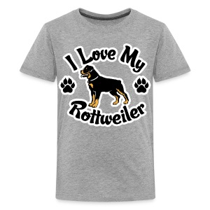 Love my Rottie - Kids' Premium T-Shirt