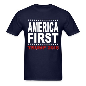 America-First-Trump-2016-4 - Men's T-Shirt