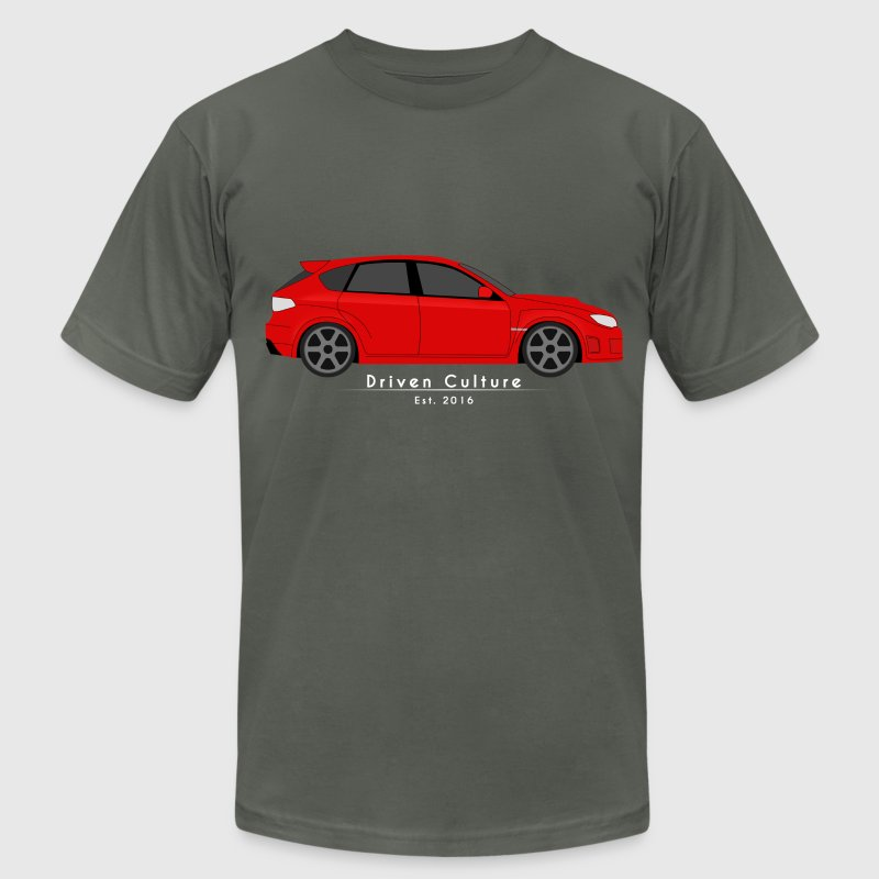 Red STI - Men's T-Shirt by American Apparel