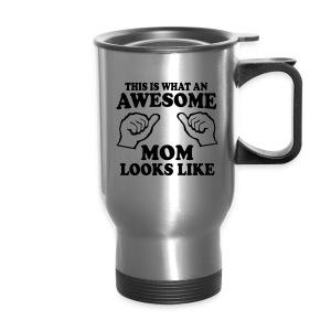 Awesome Mom - Travel Mug - Travel Mug