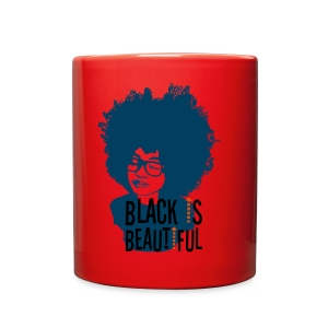 Black is Beautiful Mug - Full Color Mug