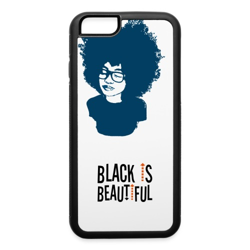 Black is Beautiful Case - iPhone 6/6s Rubber Case
