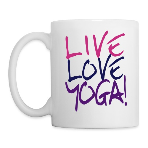 Live Love Yoga Mug - Coffee/Tea Mug