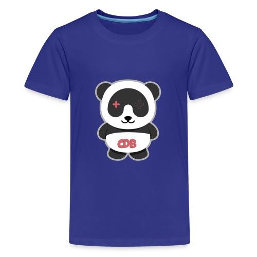 CDB Gamings T-Shirt Sizes: Youth XS, Youth S, Youth M, Youth L. - Kids' Premium T-Shirt