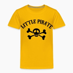 Little Pirate Baby & Toddler Shirts