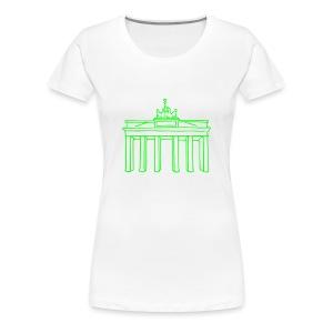 Brandenburg Gate in Berlin - Women's Premium T-Shirt