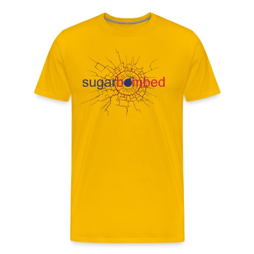 Man's SB Simple Color Logo T-Shirt - Men's Premium T-Shirt
