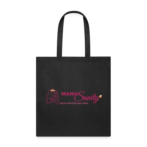 Tote Bag - Crown,Cute mom,Mommy,Moms sanity,Queen,badass,beautiful,cute,defiant,edgy,empowerment,gold,insanity,lioness,mamasanity,moms,more than just a mom,parenting,pink,rebellious,sanity,women Bag