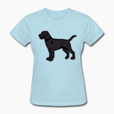 Dogs - Black Labrador Breed Or Black Lab Women's T-Shirts
