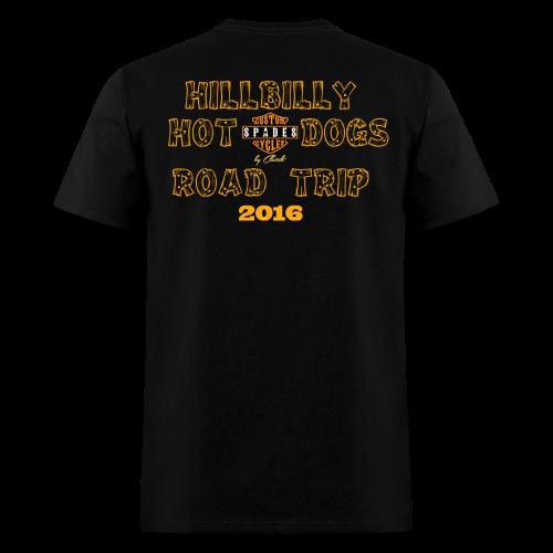 Hillbilly Hot Dog Road Trip 2016 Shirt - Men's T-Shirt