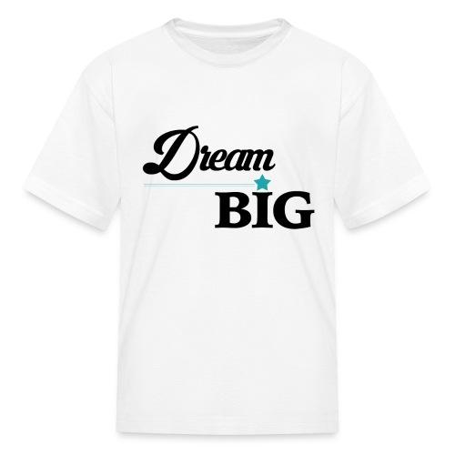Youth Dream Big Campaign Shirt (Blue Star) - Kids' T-Shirt