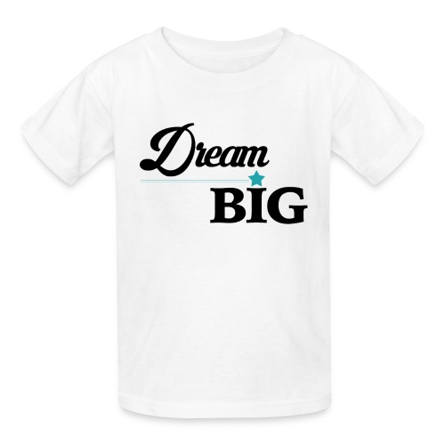 Youth Dream Big Campaign Shirt (Blue Star) - Kids' T-Shirt