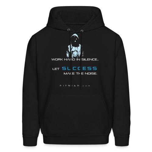 Success Hoodie (Blue print) - Men's Hoodie