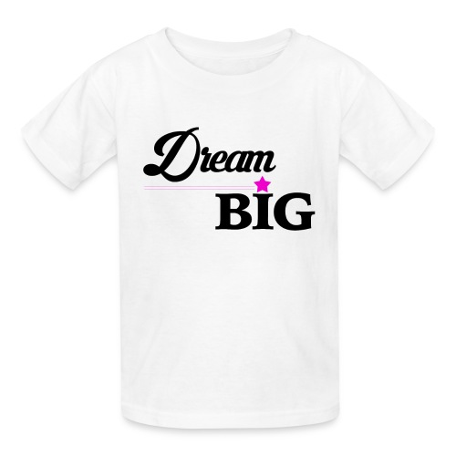 Youth Dream Big Campaign Shirt (Pink Star) - Kids' T-Shirt