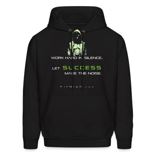 Success Hoodie (Green print) - Men's Hoodie