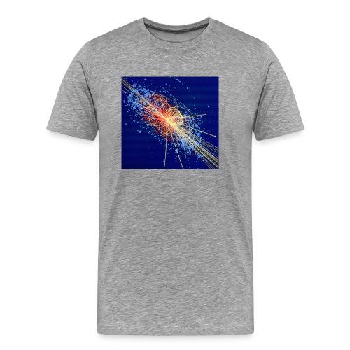 Higgs boson decays to four muons - Men's Premium T-Shirt