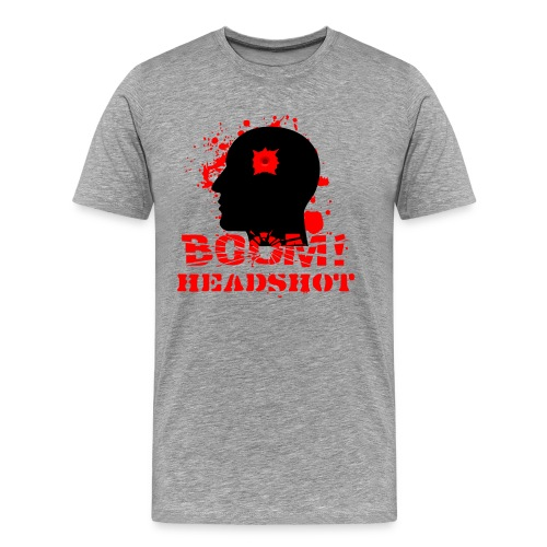 BOOM HEADSHOT 2 - Men's Premium T-Shirt