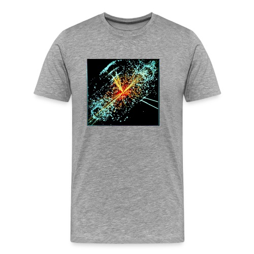 Simulated Higgs to two jets and two electrons - Men's Premium T-Shirt