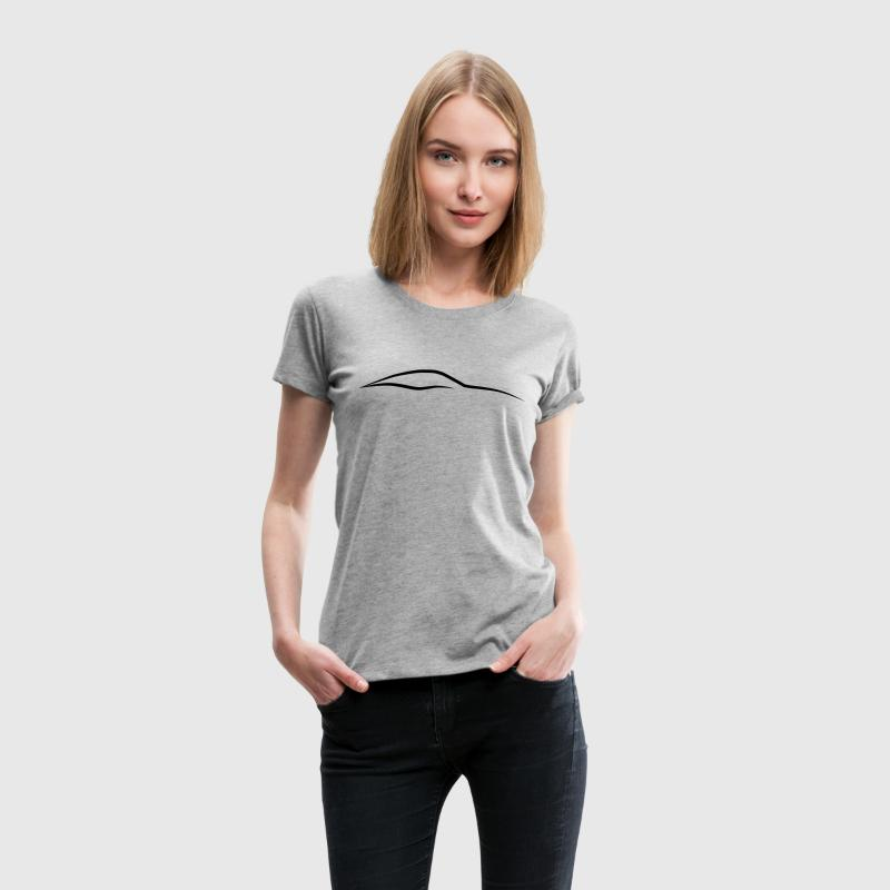 Sports Car Side Logo - Women's Premium T-Shirt