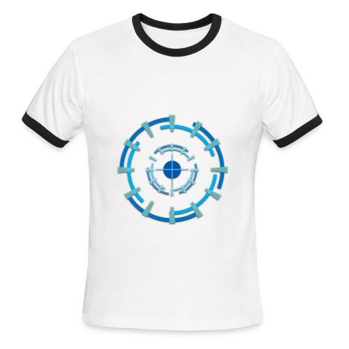 Geometric - Men's Ringer T-shirt - Men's Ringer T-Shirt