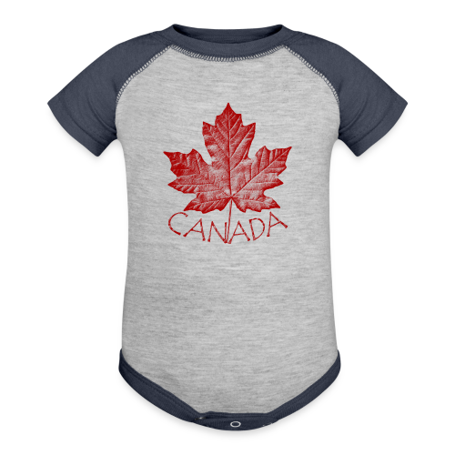 Baby Canada Souvenir One-piece Souvenir - Baby Contrast One Piece