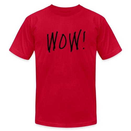 WOW! - Men's Fine Jersey T-Shirt