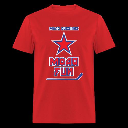 Moar Russians Moar Fun Men's T-Shirt - Men's T-Shirt