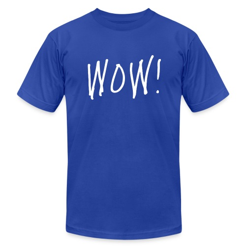 WOW! - Men's  Jersey T-Shirt