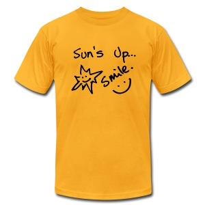 Sun's Up...Smile :) - Men's Fine Jersey T-Shirt