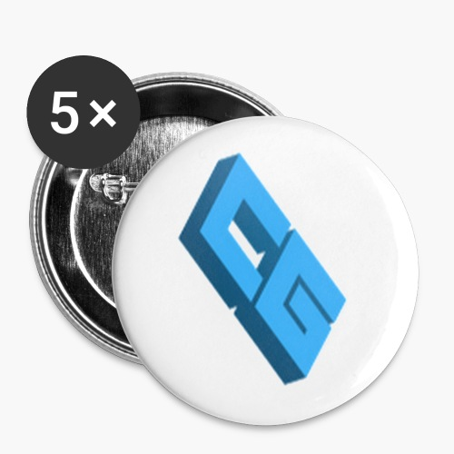 CG Small Button - Buttons small 1'' (5-pack)