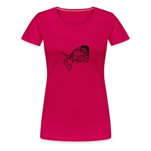 Emerging Butterfly  - Women's Premium T-Shirt
