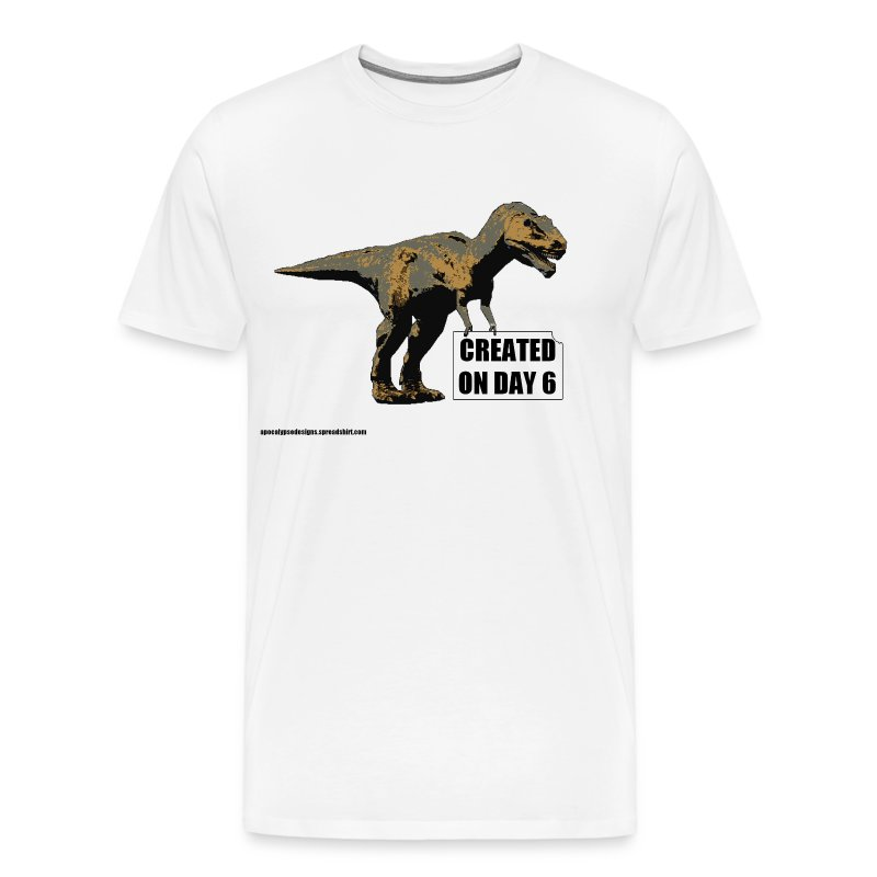 trex_day_6_tshirt - Men's Premium T-Shirt