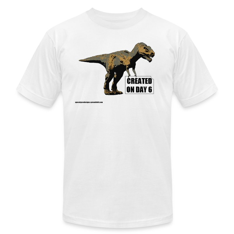 trex_day_6_tshirt - Men's T-Shirt by American Apparel