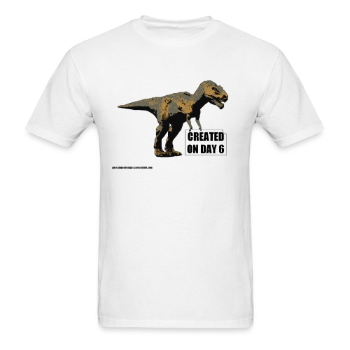 trex_day_6_tshirt - Men's T-Shirt