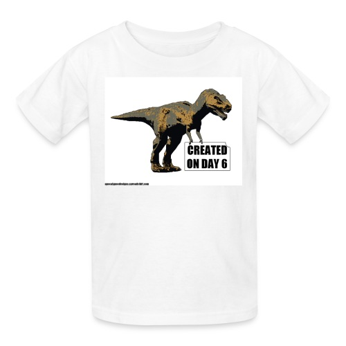 trex_day_6_tshirt - Kids' T-Shirt
