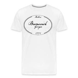 Brunswick Georgia Men's T-shirt - Men's Premium T-Shirt